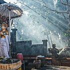 Bali Temple Negara by JohnKarmouche
