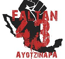Ayotzinapa #43 by TheBeksor