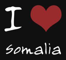I love Heart Somalia One Piece - Short Sleeve
