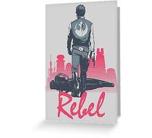 Rebel (light version) Greeting Card