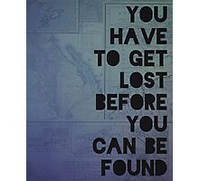 Lost and Found Photographic Print