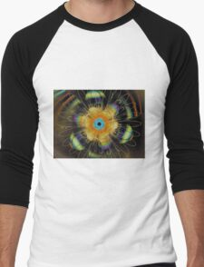 Refractions in Time Men's Baseball ¾ T-Shirt