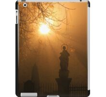 A church yard in Freiburg iPad Case/Skin