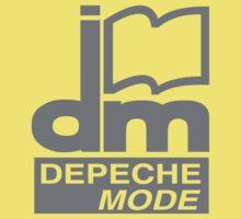 Depeche Mode : DM Logo 1986 - 2 - Grey Kids Clothes