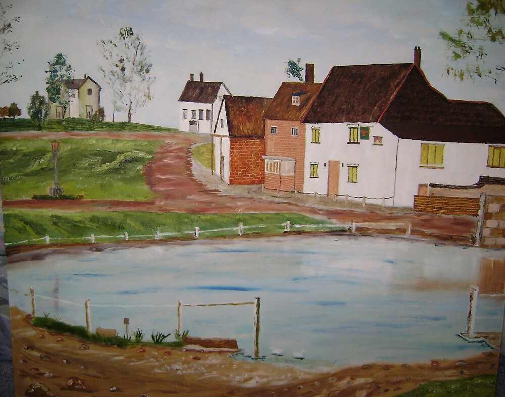 Village Pond by Debra Lohrere