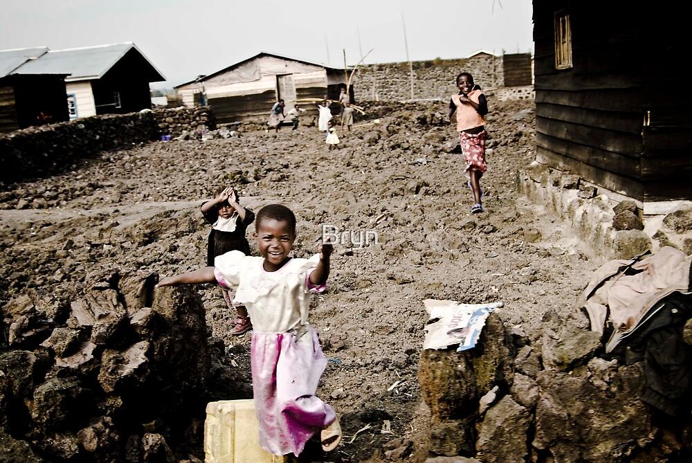 """Lava Town"" Goma Congo by Bryn"