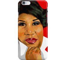 Aretha Franklin iPhone Case/Skin