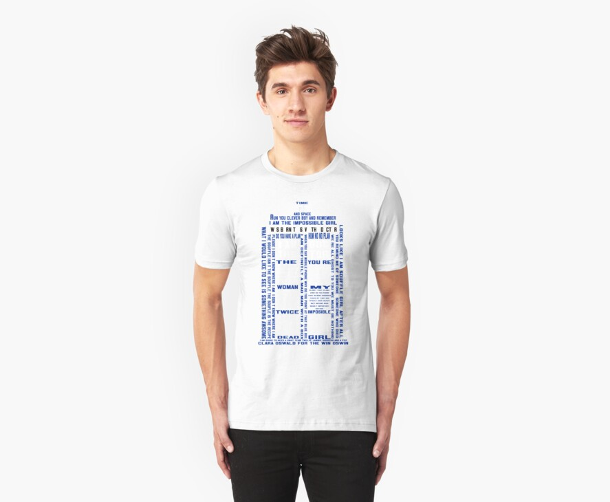 Tardis  - T-shirt by salodelyma