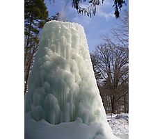 Frozen Fountain Photographic Print