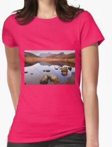 Blea Tarn, Little Langdale Womens Fitted T-Shirt