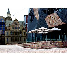 Fed Square Sunday Afternoon Photographic Print