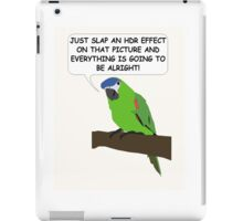 The HDR Parrot iPad Case/Skin