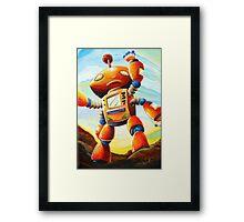 Randall's Robot Framed Print