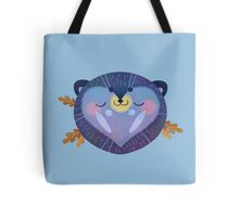 Sleepy Hedgehog Tote Bag