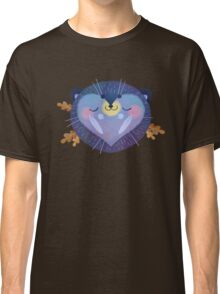 Sleepy Hedgehog Classic T-Shirt