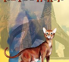 Abyssinian Cat by Lotacats