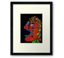 Crying Man Framed Print