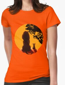 Leon King Womens Fitted T-Shirt