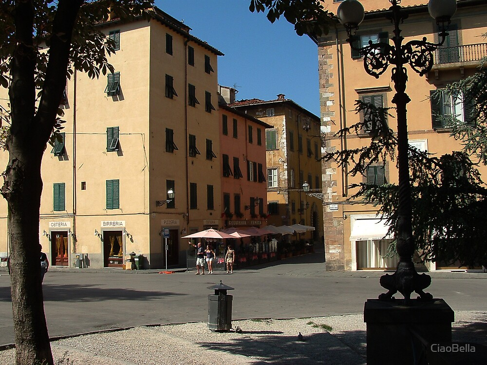 street scene in Lucca by CiaoBella