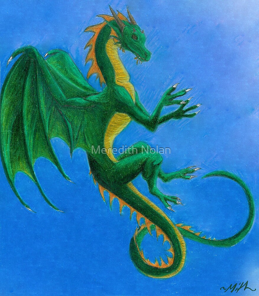 Green Dragon by Meredith Nolan
