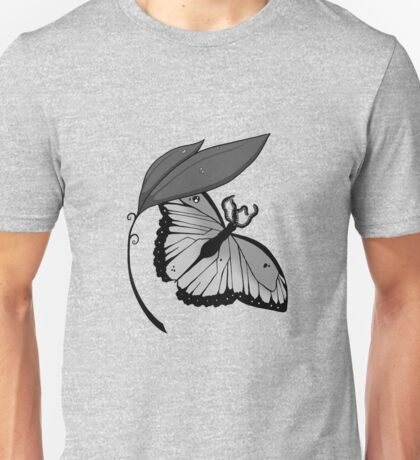 Tentacle Butterfly Unisex T-Shirt