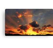 Whitianga Sunset Canvas Print