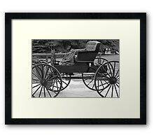 Amish Buggy 2 Framed Print