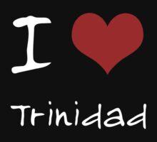 I love Heart Trinidad Kids Tee