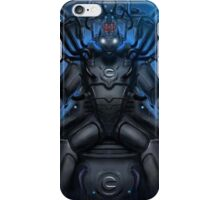 Cyber-Leader Throne iPhone Case/Skin