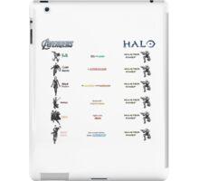 Avengers vs. Halo iPad Case/Skin