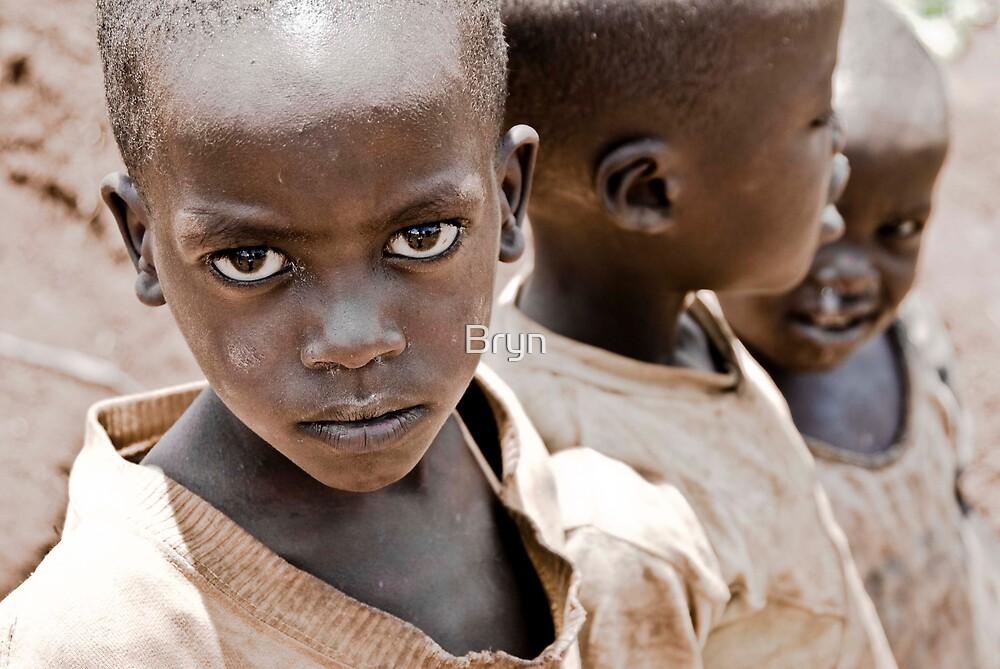 Geranium Fields - Rwanda by Bryn