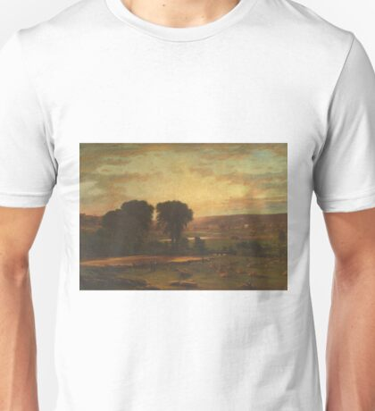 George Inness - Peace And Plenty Unisex T-Shirt