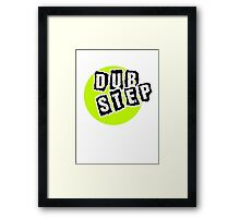 Dub Step Point Framed Print