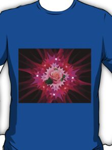 One Pink Rose to Go T-Shirt