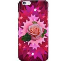One Pink Rose to Go iPhone Case/Skin
