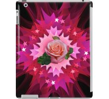 One Pink Rose to Go iPad Case/Skin