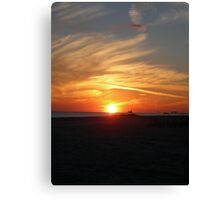 Thanksgiving Sky Canvas Print