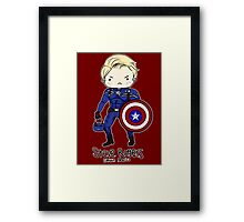Star Spangled Man With a Plan Framed Print