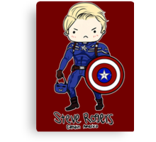 Star Spangled Man With a Plan Canvas Print
