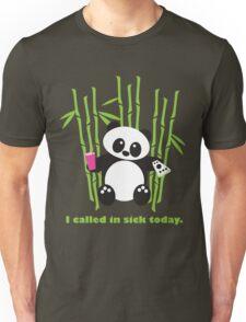 R E L A X I N G  P A N D A Unisex T-Shirt