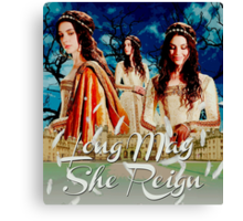Long May She Reign Canvas Print