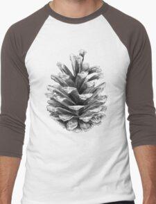 Pine Cone Men's Baseball ¾ T-Shirt