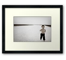 Head Start Framed Print