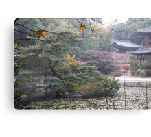 Korean Palace Seoul Canvas Print