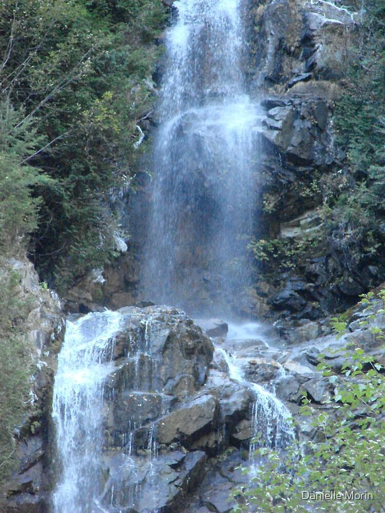 Waterfalls in November by Danielle Morin