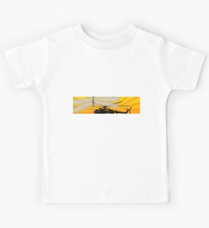 How do dragonflies and helicopters fly Kids Tee