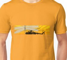 How do dragonflies and helicopters fly Unisex T-Shirt