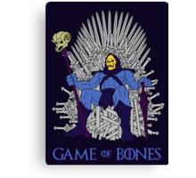 Game Of Bones Canvas Print
