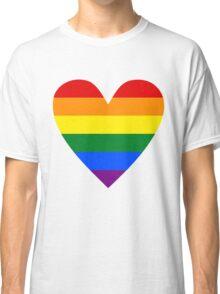 LGBT heart Classic T-Shirt