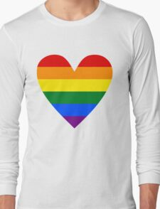 LGBT heart Long Sleeve T-Shirt